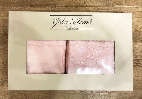 Постельное белье Gelin Home GULBEYAZ  крем евро