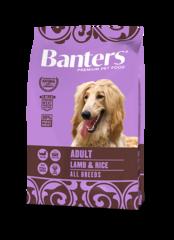 Banters Adult ягненок с рисом сухой корм для собак