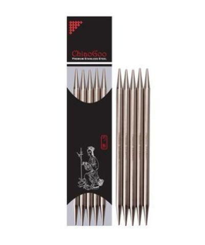 Чулочные спицы ChiaoGoo металл 15 см
