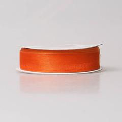 Лента органза 2,5см оранжевый