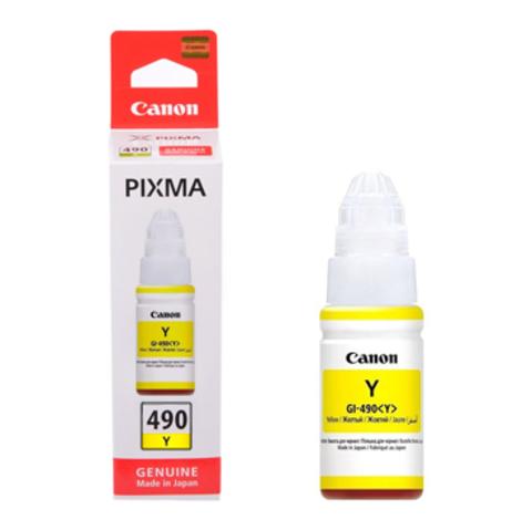 Картридж Canon GI-490 Y/0666C001