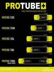 Размеры светильников PROTUBE