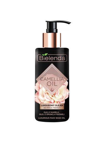 Эксклюзивное гидрофильное масло для умывания, CAMELLIA OIL, 140 мл
