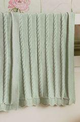 Плед детский 100х150 Luxberry Imperio 93 зеленый