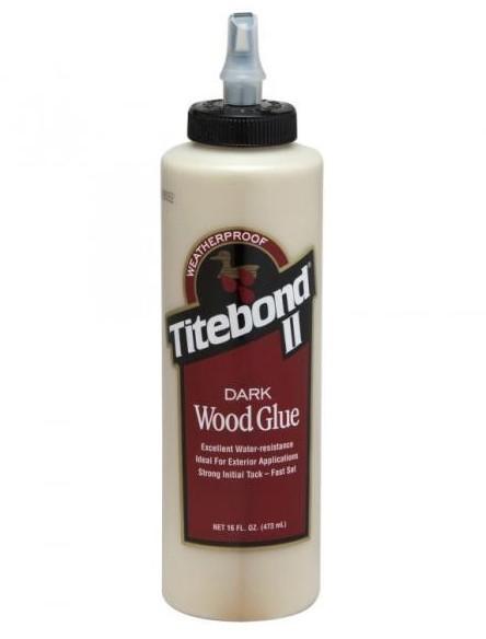 Titebond Dark Wood Glue 473 мл. Клей для темных пород дерева