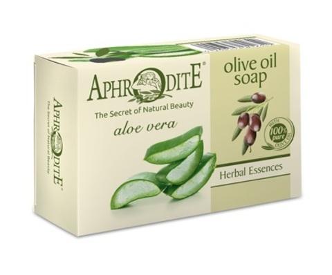 Мыло оливковое с алоэ вера Aphrodite 100 гр