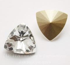 4799 Ювелирные стразы Сваровски Kaleidoscope Triangle Crystal (14х14,3 мм)