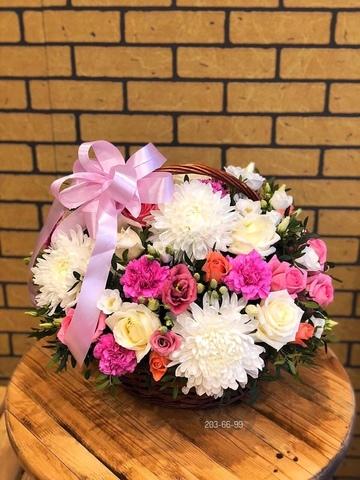 Цветы в корзинке #4884