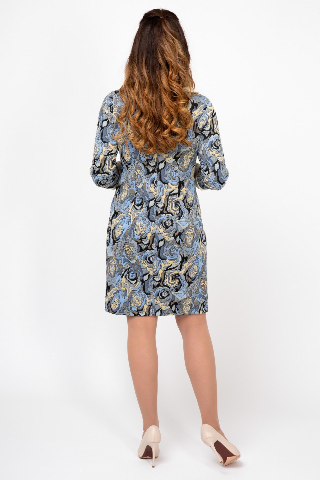Платье 09917 серый
