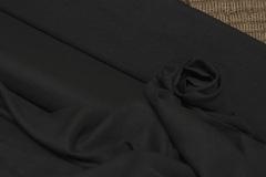 Облегченный смягченный лён цвет черный