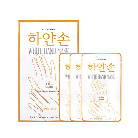 KOCOSTAR | Восстанавливающая маска для рук «Увлажнение и Сияние» Набор из 3 шт, (3 х 8 мл)