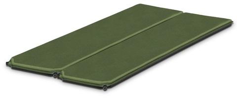 коврик Alexika DOUBLE COMFORT pine green, 198x76x7,5 cm x 2mats
