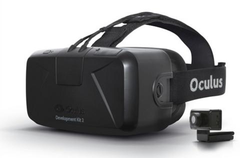 Шлем виртуальной реальности Oculus Rift DK 2