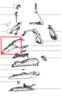 Верхняя (передняя) часть корпуса утюга Tefal (Тефаль)- CS-00120858