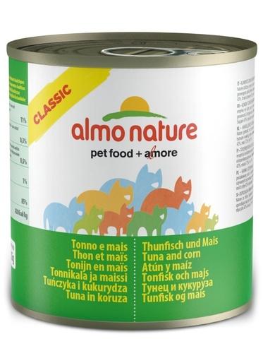 Консервы (банка) Almo Nature Classic Tuna and Corn