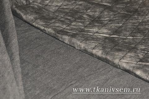 Ткань курточная комби-джерси 06-86-27152