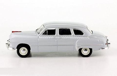 ZIM-12 (GAZ-12A) Taxi gray 1:43 DeAgostini Auto Legends USSR Taxi #1