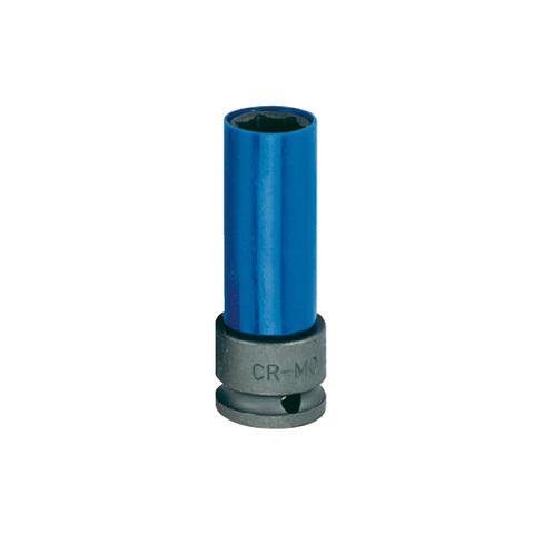 Головка ударная колесная 17 мм, в пластиковой защите, HONITON ISK-4017