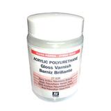 27526 Polyurethane Varnish Gloss Акриловый полиуретановый глянцевый лак, 200 мл Acrylicos Vallejo