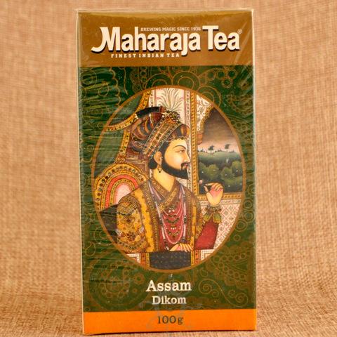 Чай черный ассам Диком Махараджа, 100г