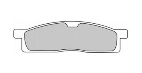 Тормозные колодки Ferodo FDB2015DX