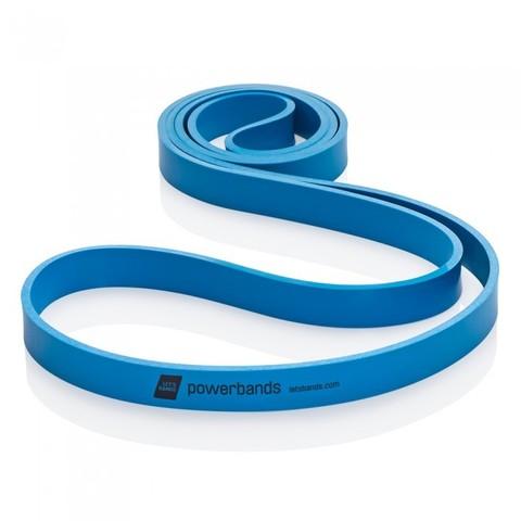Эспандер-лента POWERBANDS MAX (тяжелое сопротивление, синяя)