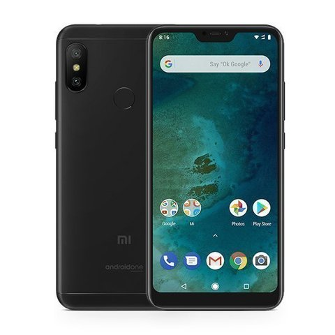 Смартфон Xiaomi Mi A2 Lite 4GB/32GB (Black/Черный)