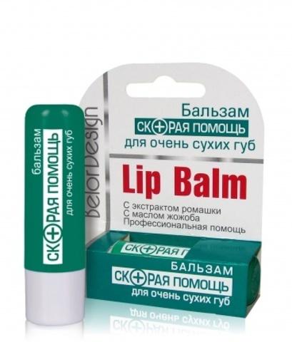 BelorDesign Скорая помощь Бальзам для очень сухих губ 4г