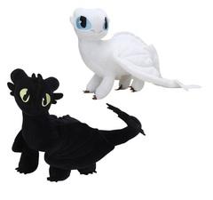 Как приручить дракона 3 игрушки мягкие Беззубик и Дневная Фурия