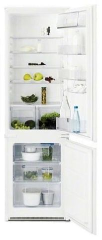 Встраиваемый двухкамерный холодильник Electrolux ENN92801BW