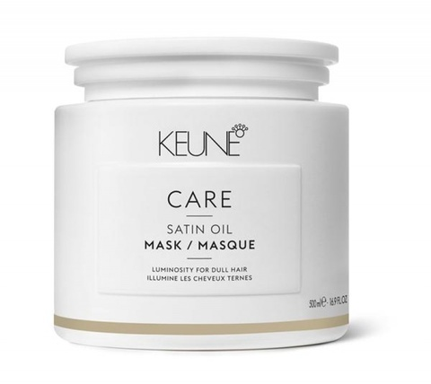 Keune Маска Шелковый уход Satin Oil Intensive treatment Care Line