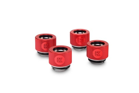EK-HDC Fitting 12mm - Red (4-pack)