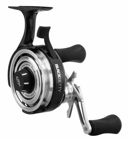 Зимняя катушка 13 Fishing BBFF2.5-LH Black Betty FreeFall