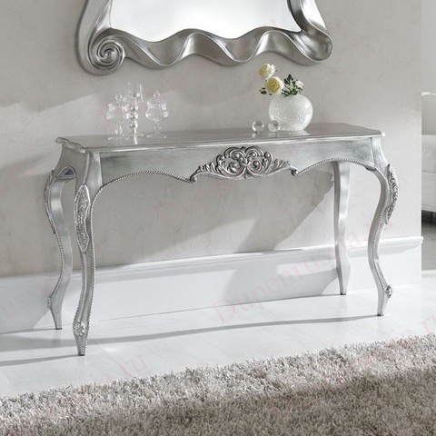 Консоль DUPEN К57 серебро
