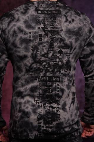 Пуловер Affliction Moto Hellspeed