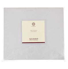 Простыня на резинке Luxberry сатин серый жемчуг