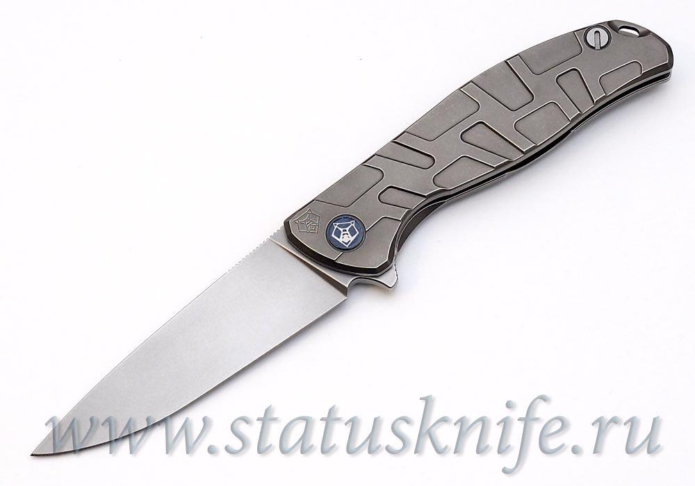 Нож Широгоров Flipper 95 S30V Т узор подшипники