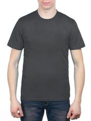 3366-8 футболка мужская, серая