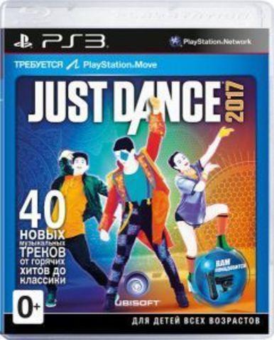 Sony PS3 Just Dance 2017 (только для PS Move, английская версия)
