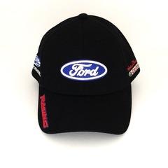 Кепка с вышитым логотипом Форд (Кепка Ford) черная