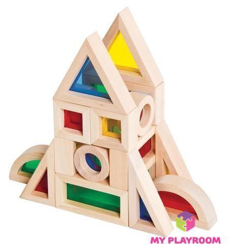 Конструктор Радужные блоки (Rainbow blocks), 20 деталей 5