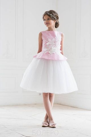 Нарядное платье (арт.320роз)