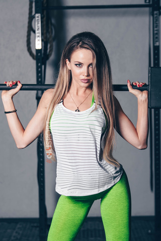 Женская майка Nebbia WRAP UP TANK 626 white