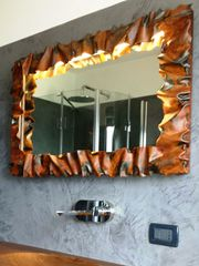 кованое зеркало   30 -16 ( ART-METAL )