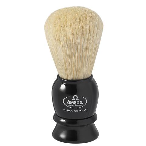 Помазок для бритья натуральный кабан Omega 13564