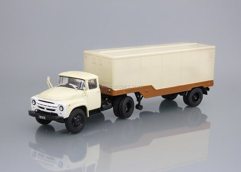 ZIL-130V1 and semitrailer ODAZ-794 1:43 DeAgostini Auto Legends USSR Trucks SE#1