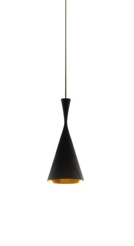 replica Tall pendant lamp (black)