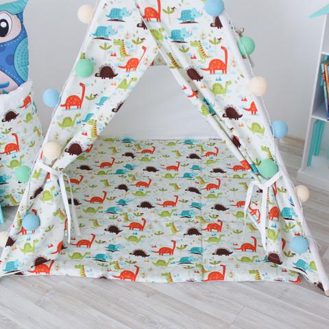 Вигвам Dino Tipi (детский игровой домик, палатка)