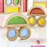 Конструктор Радужные блоки (Rainbow blocks), 20 деталей 6