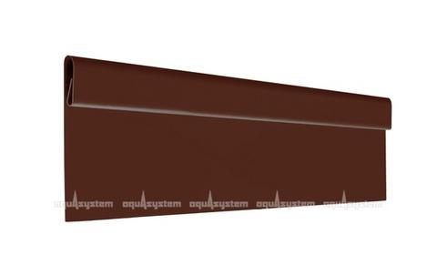 Финишная планка Аквасистем алюминиевая с полимерным покрытием POLYESTER 2 м